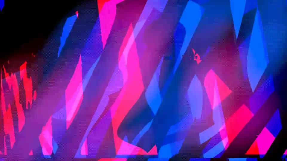 Outrun Abstract GIFs