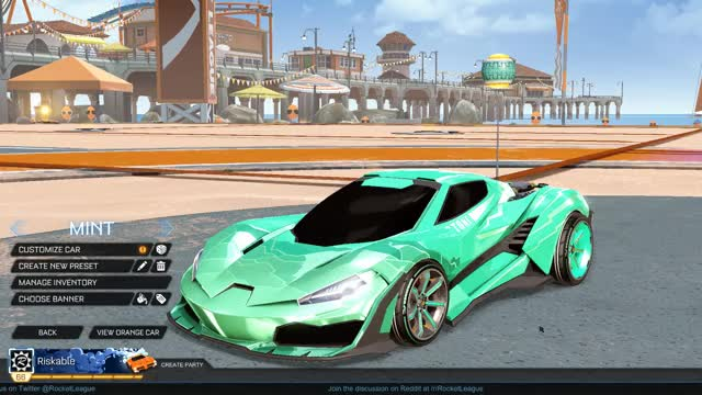 Watch Mint Cyclone GIF by Riskable (@riskable) on Gfycat. Discover more Fashion League, Rocket League GIFs on Gfycat