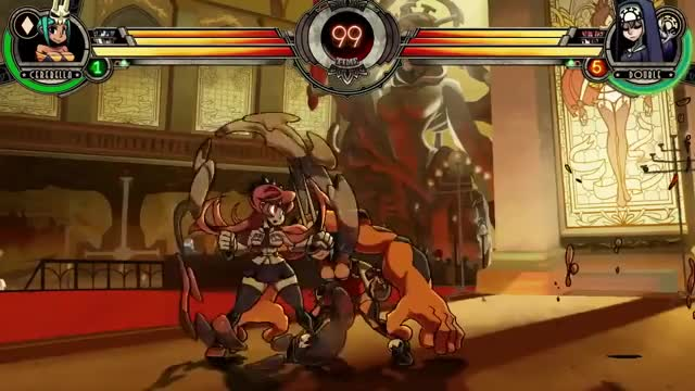 Watch and share Double Skullgirls GIFs on Gfycat