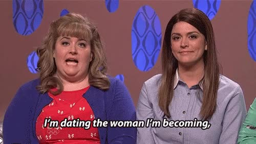 Watch Talk show GIF on Gfycat. Discover more aidy bryant, cecily strong GIFs on Gfycat