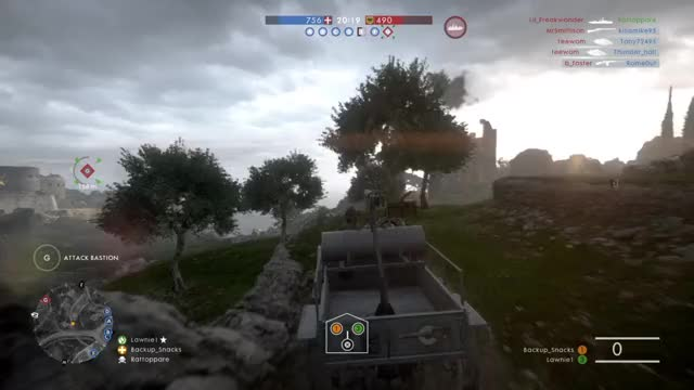 Watch No flame tank? No problem! GIF by @auxiliarytreats on Gfycat. Discover more BF1, Butt Clan GIFs on Gfycat