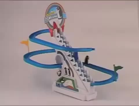 Watch Penguin Race Novelty from Hawkin's Bazaar GIF on Gfycat. Discover more related GIFs on Gfycat