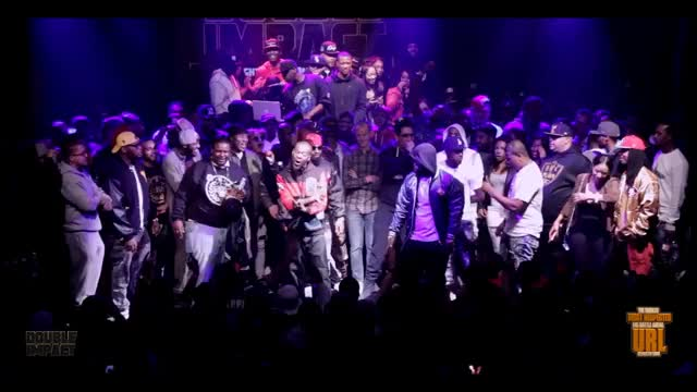 TSU SURF/ TAY ROC VS K SHINE/ DNA SMACK/ URL RAP BATTLE GIF