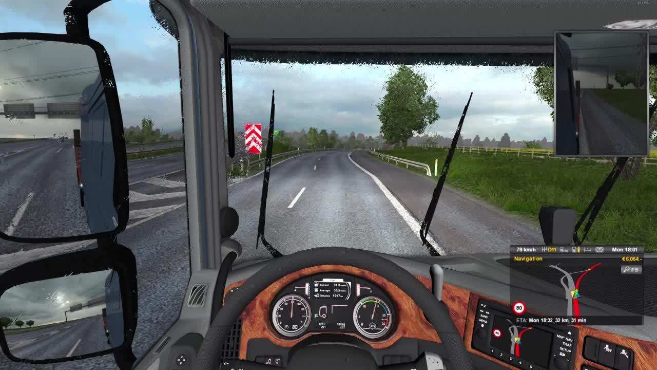 ETS2, gamephysics, Euro Truck Simulator 2 GIFs