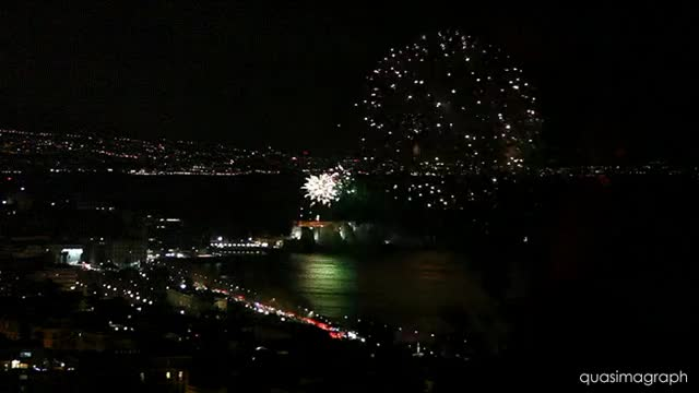 Watch and share Castel Dell'Ovo In Naples On NYE GIFs on Gfycat