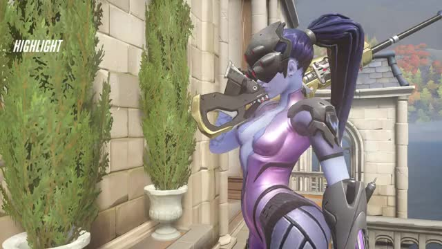 Watch Widow clip GIF by @thexxpress on Gfycat. Discover more highlight, overwatch GIFs on Gfycat
