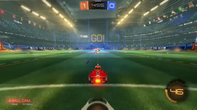Watch and share Rocket League GIFs and Wall Hit GIFs by Tennovan on Gfycat