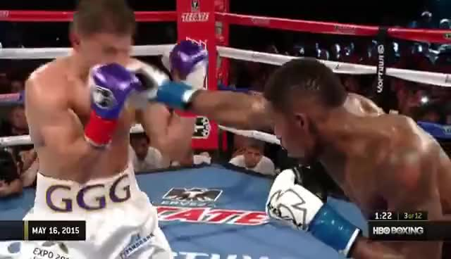 Watch Gennady Golovkin vs. Willie Monroe Jr. 2015 [Full Fight] GIF on Gfycat. Discover more related GIFs on Gfycat