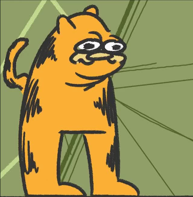 Garfield Becomes God And Vores The Universe Gif Gfycat