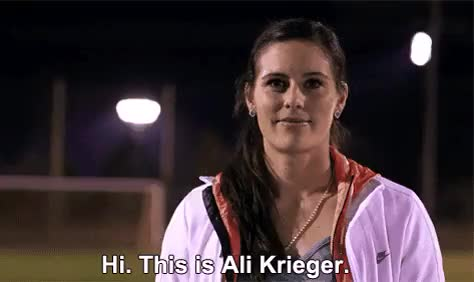 Watch Hi, you should date me. GIF on Gfycat. Discover more ali krieger, she's bae, so is the rest of the team, uswnt GIFs on Gfycat