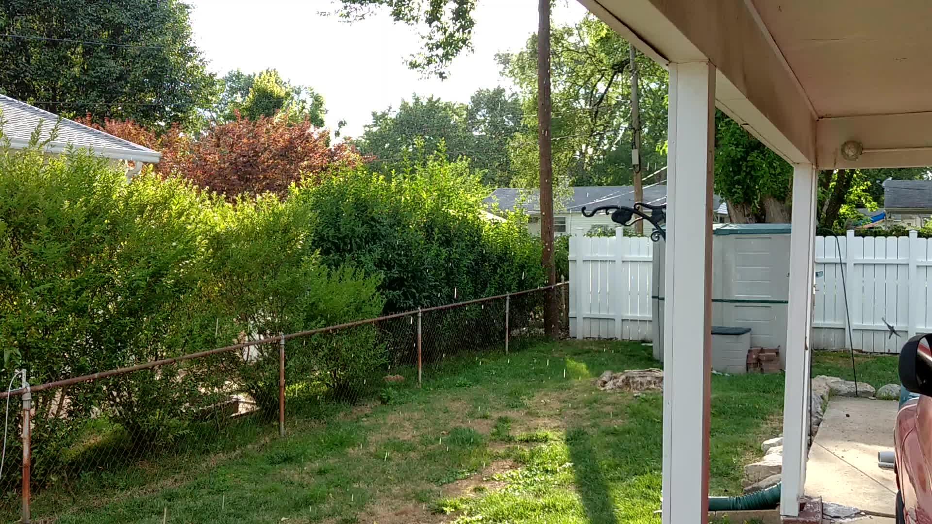 WeatherGifs, sunshine, weather, Missouri weather, raining while it's full sun. GIFs