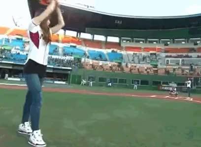 Watch and share Exidhanifan Gif GIFs and Hani Baseball GIFs on Gfycat