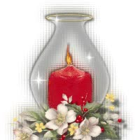 Watch and share Candle With Red Candle Hello GIFs on Gfycat