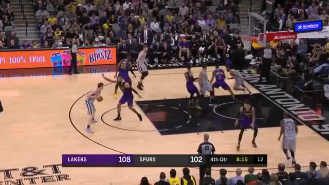 Watch and share Los Angeles Lakers GIFs and San Antonio Spurs GIFs on Gfycat