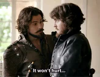 Watch and share Santiago Cabrera GIFs and Bbc Musketeers GIFs on Gfycat