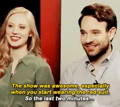 Watch and share His Laugh Kills Me GIFs and Deborah Ann Woll GIFs on Gfycat