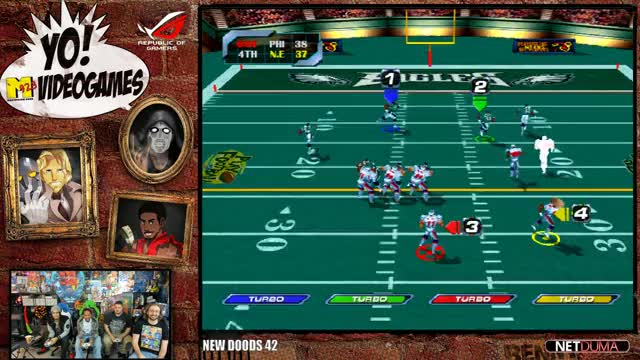 Maximilian_DOOD Playing NFL Blitz 2000 - Twitch Clips