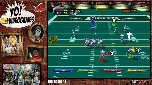 Maximilian_DOOD Playing NFL Blitz 2000 - Twitch Clips
