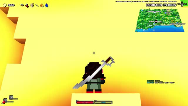 Watch and share Cube World Climb GIFs by BroadestOfSwords on Gfycat