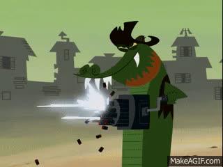 Overwatch_Memes, Overwatchmemes, genj, Bastion VS Genj (In game Footage) GIFs