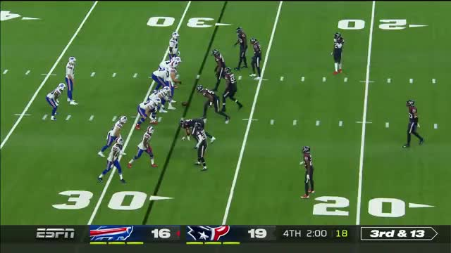 Watch and share  Josh Allen Commits Intentional Grounding, Pushing Bills Out Of Field Goal Range GIFs on Gfycat