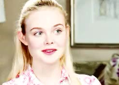 Watch and share Mary Elle Fanning GIFs and Interviews Gifs GIFs on Gfycat