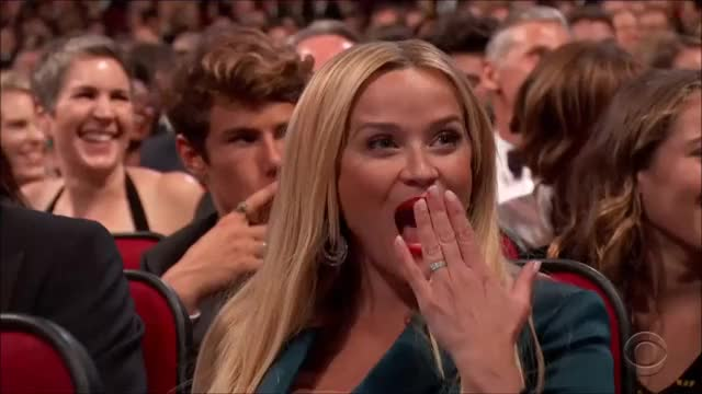Watch this reese witherspoon GIF by @tsubaki on Gfycat. Discover more emmyawards2017, emmys, emmys2017, reese witherspoon GIFs on Gfycat