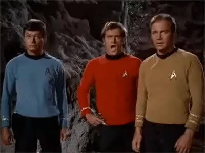 """Watch and share Red Shirt Dance, GIF'd From TOS Episode """"Friday's Child"""" GIFs on Gfycat"""