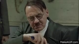 Watch and share Hitler's Rant - Original Video With English Subtitles: Film = Downfall/Der Untergang - HD GIFs on Gfycat