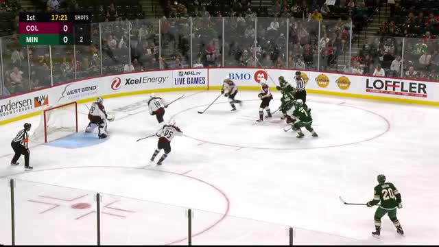 Dumba gives Wild early lead vs Avalanche