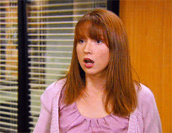ellie kemper, the office, the office erin GIFs