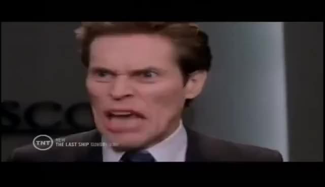 Watch and share Willem Dafoe GIFs and Spiderman GIFs on Gfycat