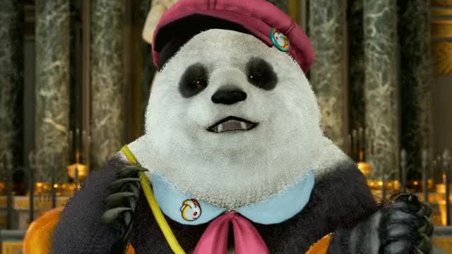 The greatest Tekken participant on the planet is a panda