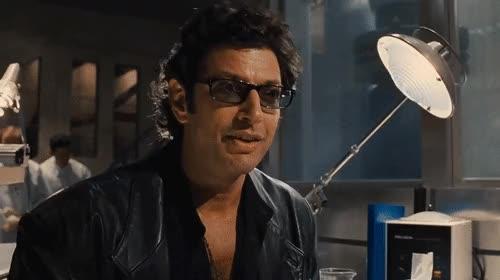 Watch and share Jeff Goldblum GIFs on Gfycat
