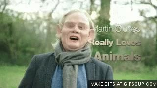 Watch Martin Clunes Har Har GIF on Gfycat. Discover more related GIFs on Gfycat