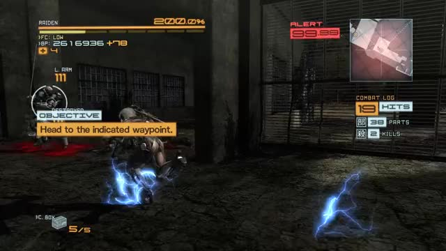 Watch and share Metal Gear Rising GIFs by queckquack on Gfycat