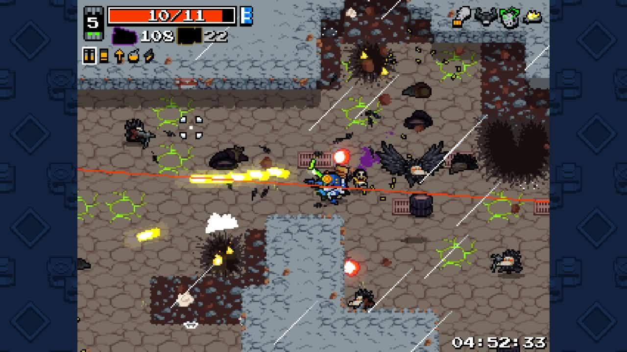 nuclearthrone, crown of explosions is gud GIFs