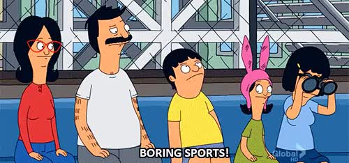 Watch and share Bobs Burgers GIFs and Sports GIFs on Gfycat