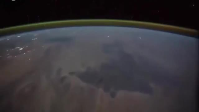 Watch Amazing (VIDEO) Astronaut Films Lightning Over The World From Space (TIM PEAKE) GIF on Gfycat. Discover more astronaut, space, world GIFs on Gfycat