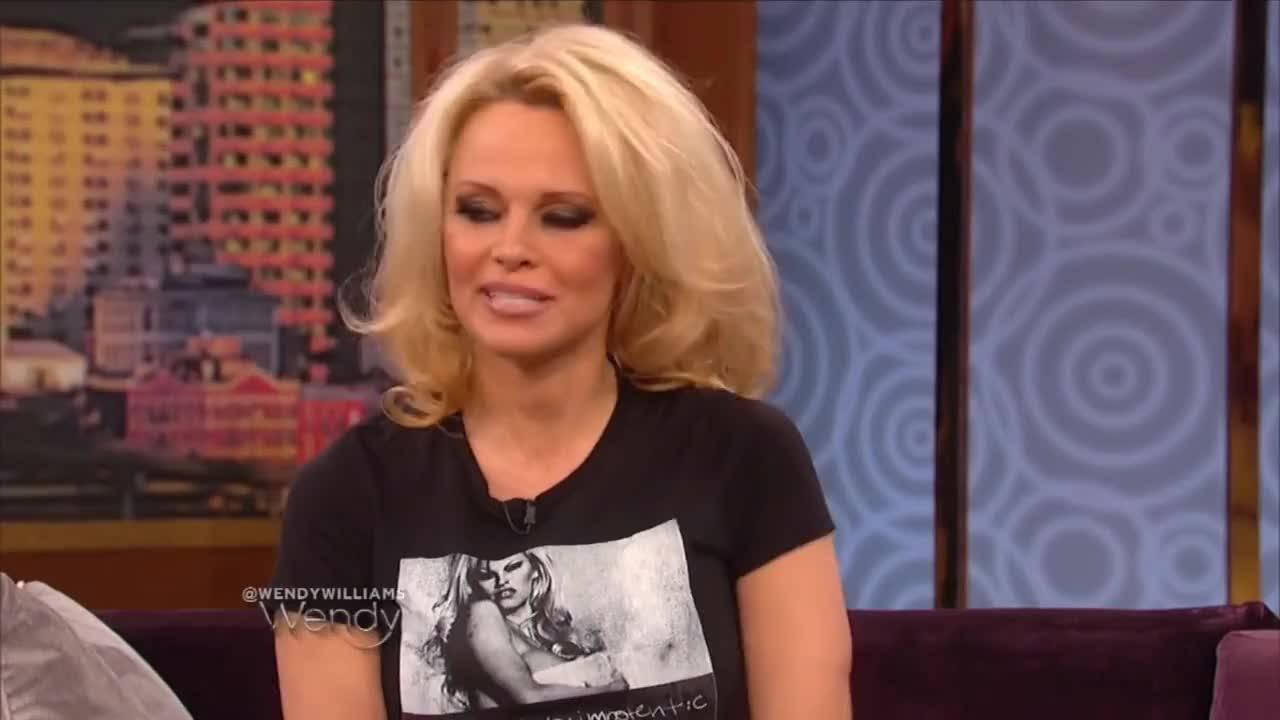 youtubeblack, Pamela Anderson on Marriage, Motherhood and Baywatch GIFs