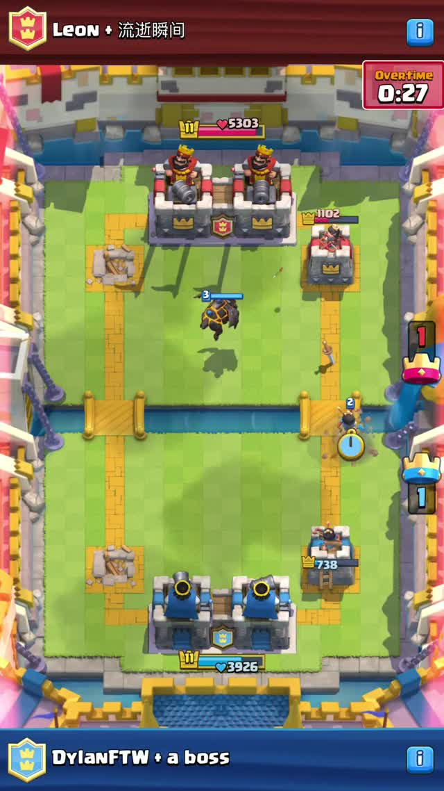 Watch and share Clash Royal Clutch Win GIFs on Gfycat