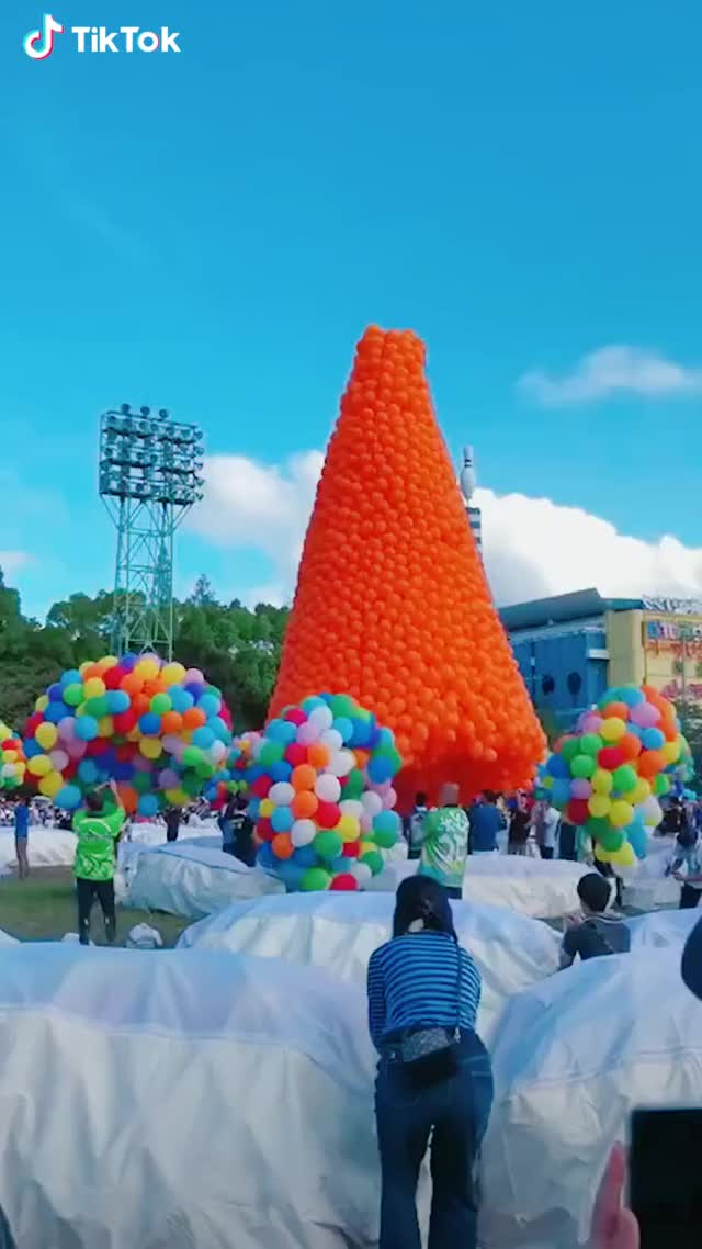 Watch and share So Beautiful, These Balloons GIFs by Funny gifs on Gfycat