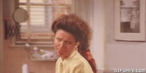 Watch and share Elaine Benes GIFs on Gfycat