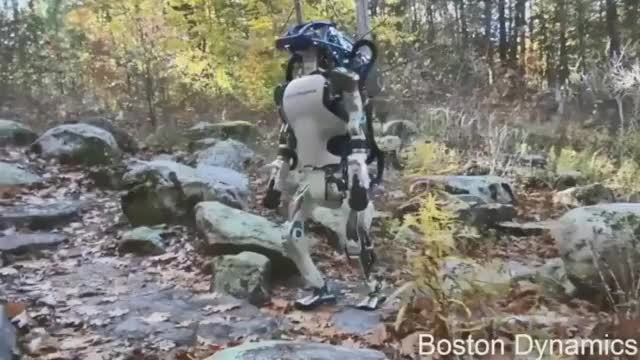 Watch and share Boston Dynamics' Atlas Walks Up Stairs GIFs by heun3344 on Gfycat