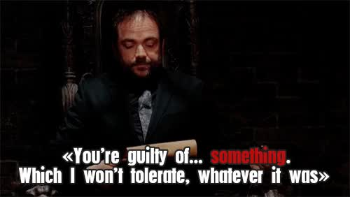 Watch June 12th, 2016 ·     spn    supernatural    crowley    crowleyquote    quote    gif    spn quote    spnaturally    supernatural quo GIF on Gfycat. Discover more mark a. sheppard GIFs on Gfycat
