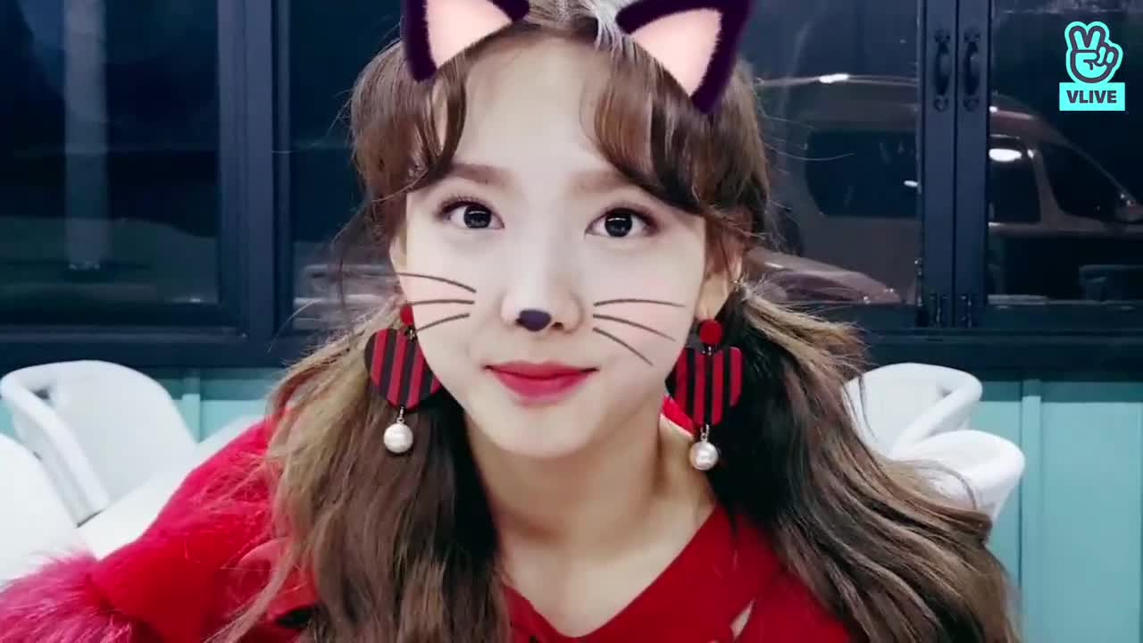 celebs, kpop, nayeon, twice, Candy pop Nayeon is a cat GIFs