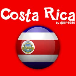 Watch and share Bandera De Costa Rica GIFs on Gfycat