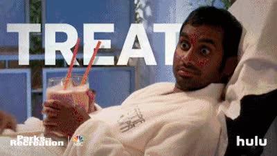 Watch and share Aziz Ansari GIFs and Retta GIFs on Gfycat