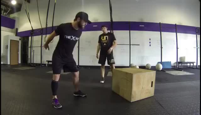The Power Step Box Jump with World Record Holder Ryan Moody