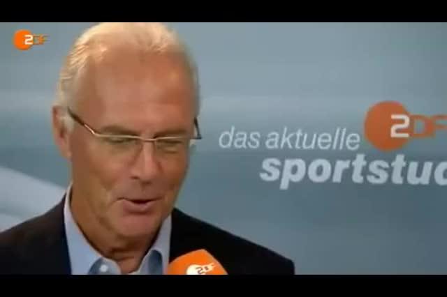 Watch and share Franz Beckenbauer GIFs and Ja Sicherlich GIFs on Gfycat